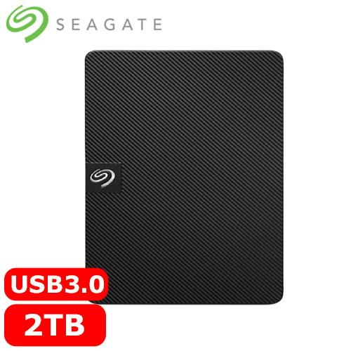 Seagate希捷 新黑鑽 2TB 2.5吋行動硬碟 (STKM2000400) 2021升級款