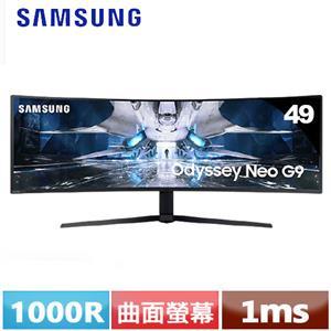 SAMSUNG三星 S49AG950NC 49型Neo G9 Mini LED曲面電競螢幕