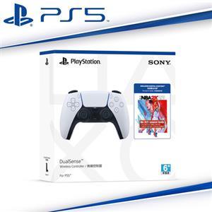 SONY PS5 DualSense 無線控制器CFI-ZCT1G + NBA 2K22 Jumpstar下載卡同捆組