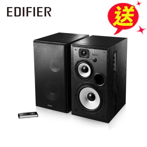 Edifier R2700 漫步者 2.0聲道 木箱書架喇叭