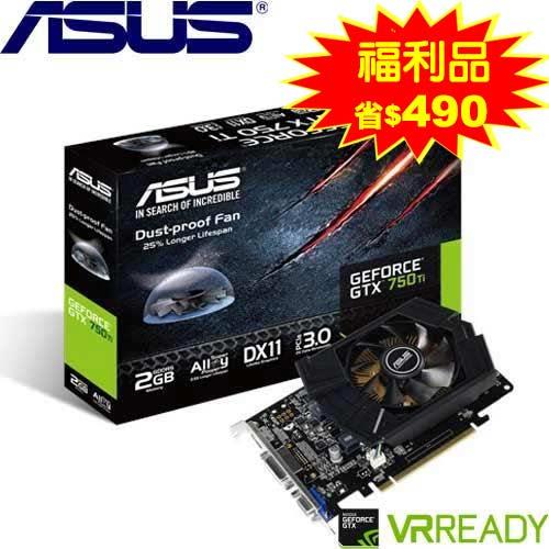 ASUS華碩 GeForceR GTX750Ti-PH-2GD5 顯示卡