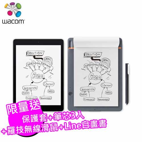 Wacom Bamboo Slate 智慧型手寫板(大) (A4)