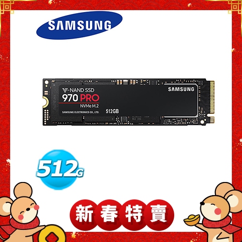 Samsung 970 系列 970 PRO SSD-512GB (M.2,PCIe/MZ-V7P512BW)