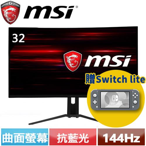 MSI微星 32型 Optix MAG321CQR 曲面電競螢幕