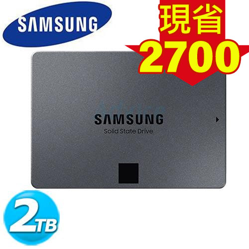 Samsung 860 系列 860 QVO SSD-2TB (MZ-76Q2T0BW)