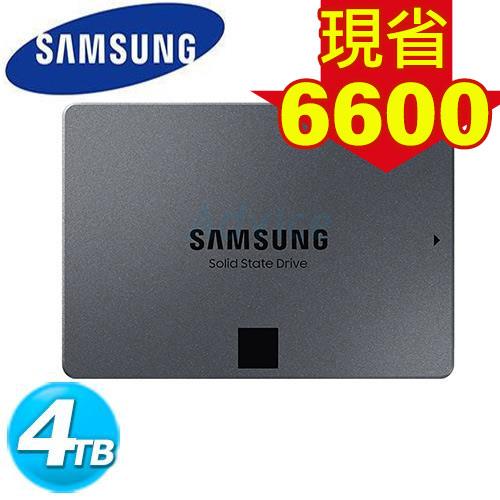 Samsung 860 系列 860 QVO SSD-4TB (MZ-76Q4T0BW)